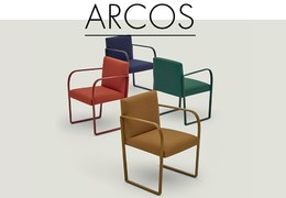 Meeting armchair ARCOS