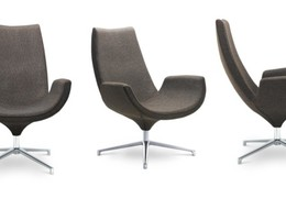 Swivel armchair RELAX