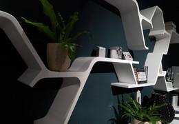 Modular shelf SINAPSI